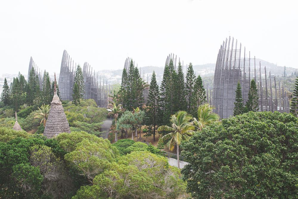 Le centre culturel Jean-Marie Tjibaou