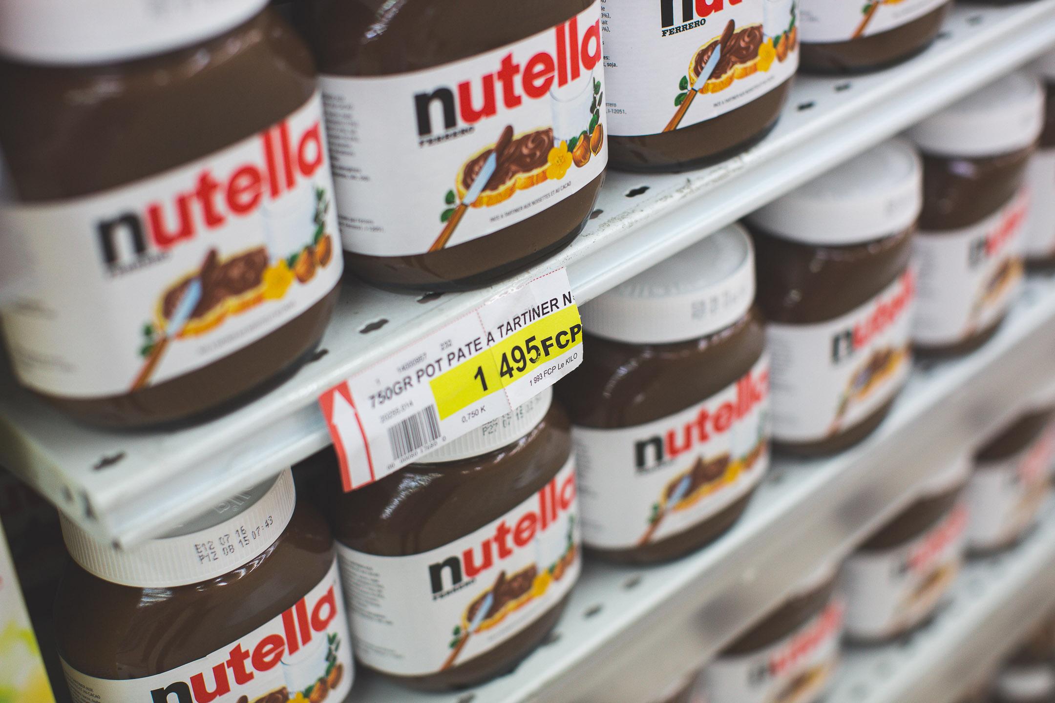 nutella supermarché nouvelle calédonie