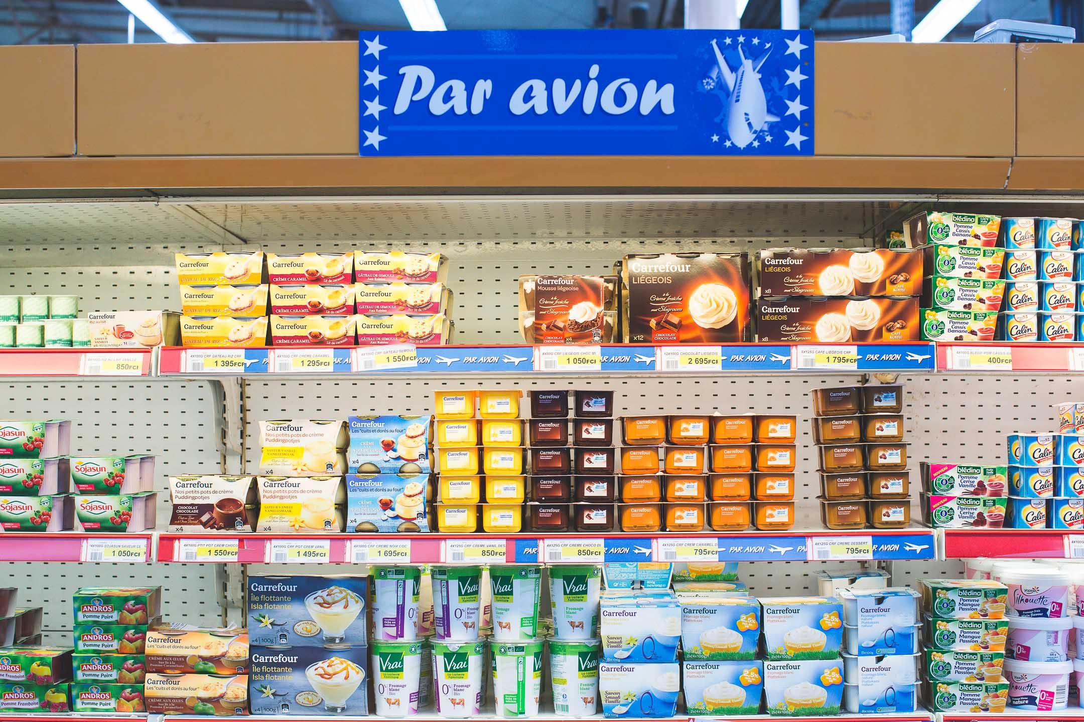 supermarché nouvelle calédonie