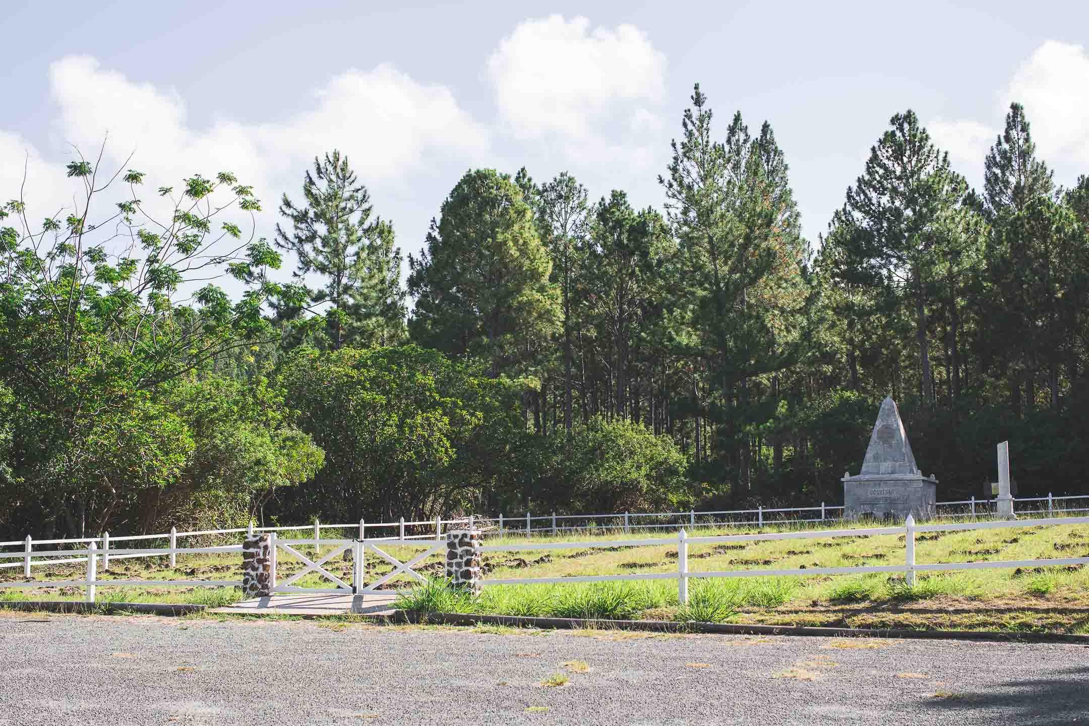 cimetière administré île des pins