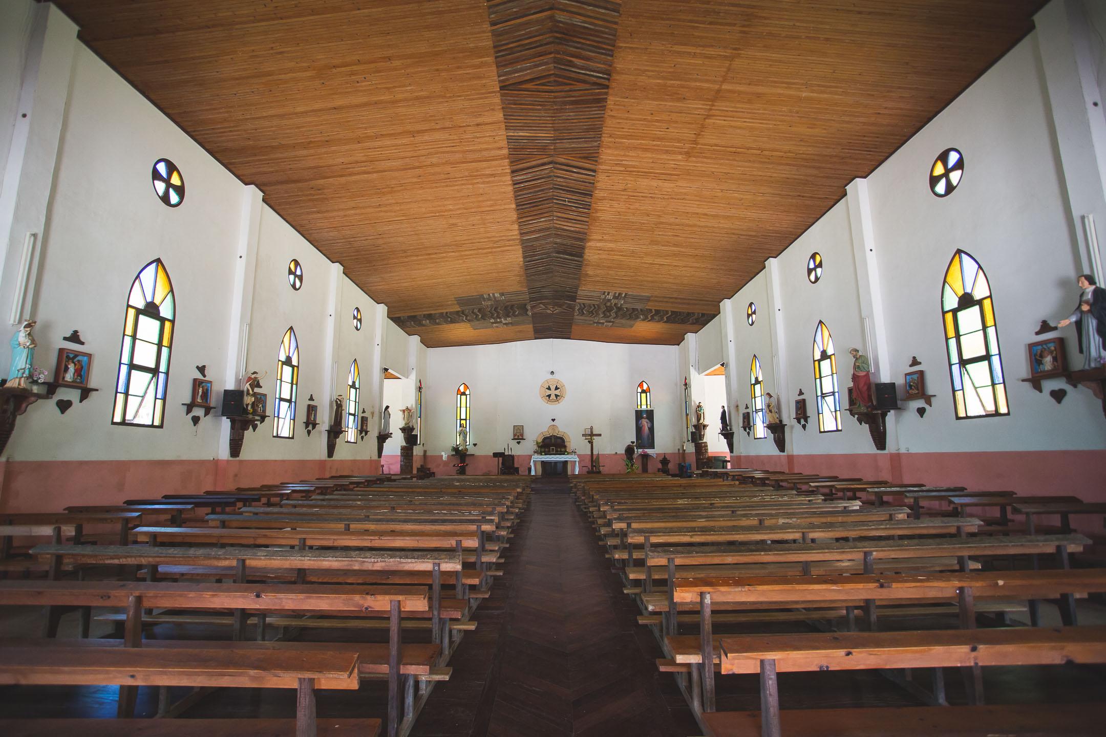 église vao île des pins