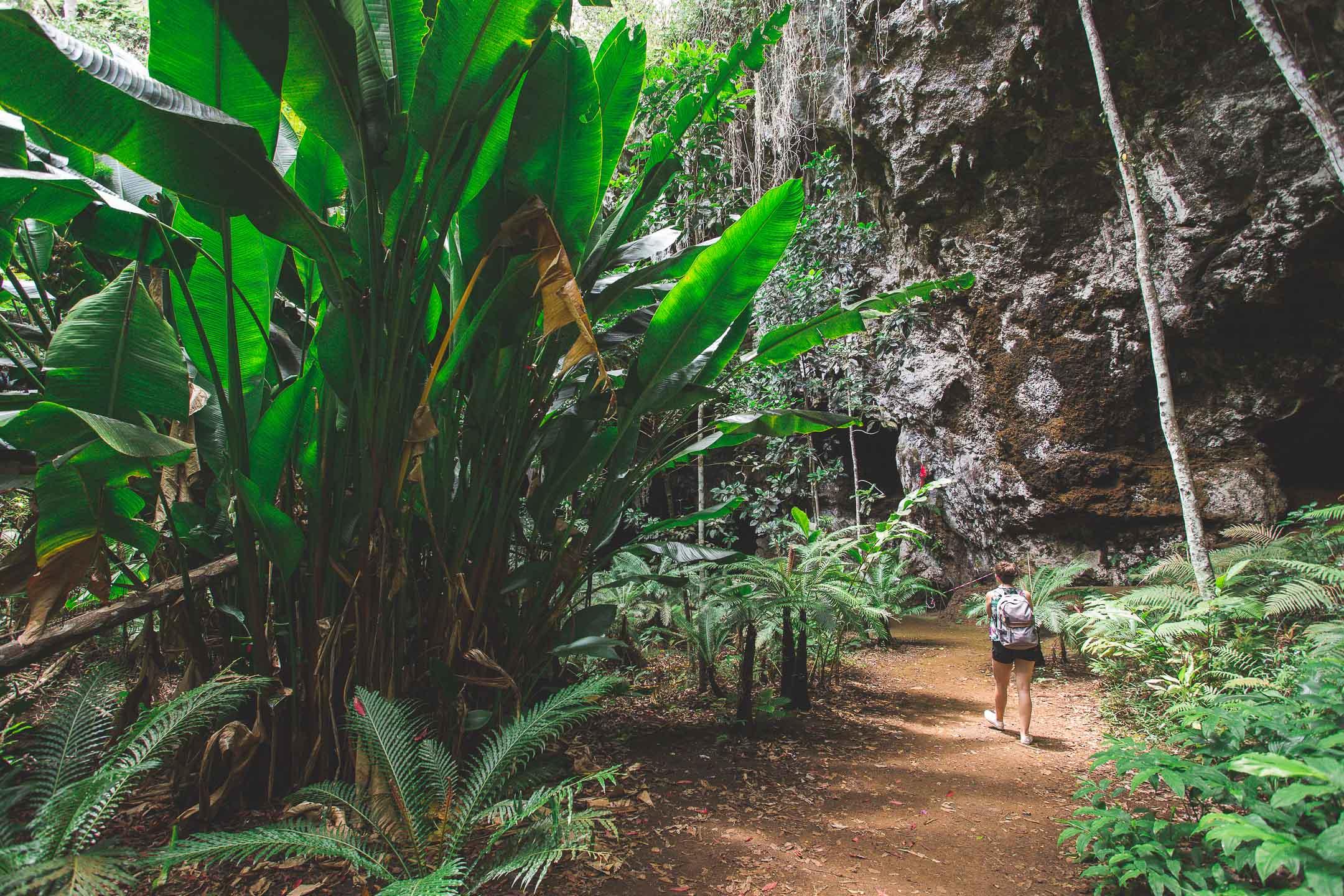 grotte reine hortense île des pins