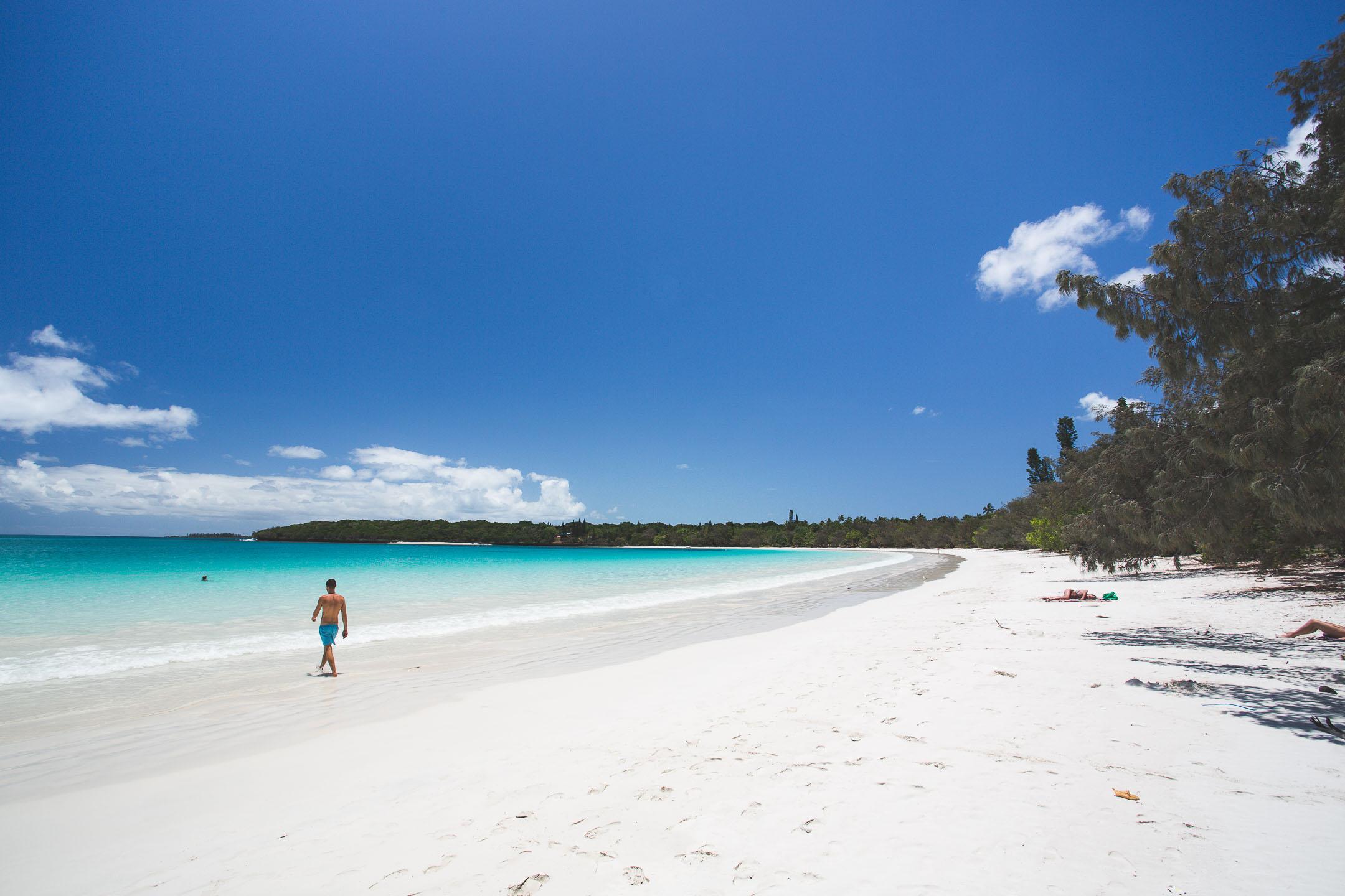 La baie de Kuto de l'île des Pins