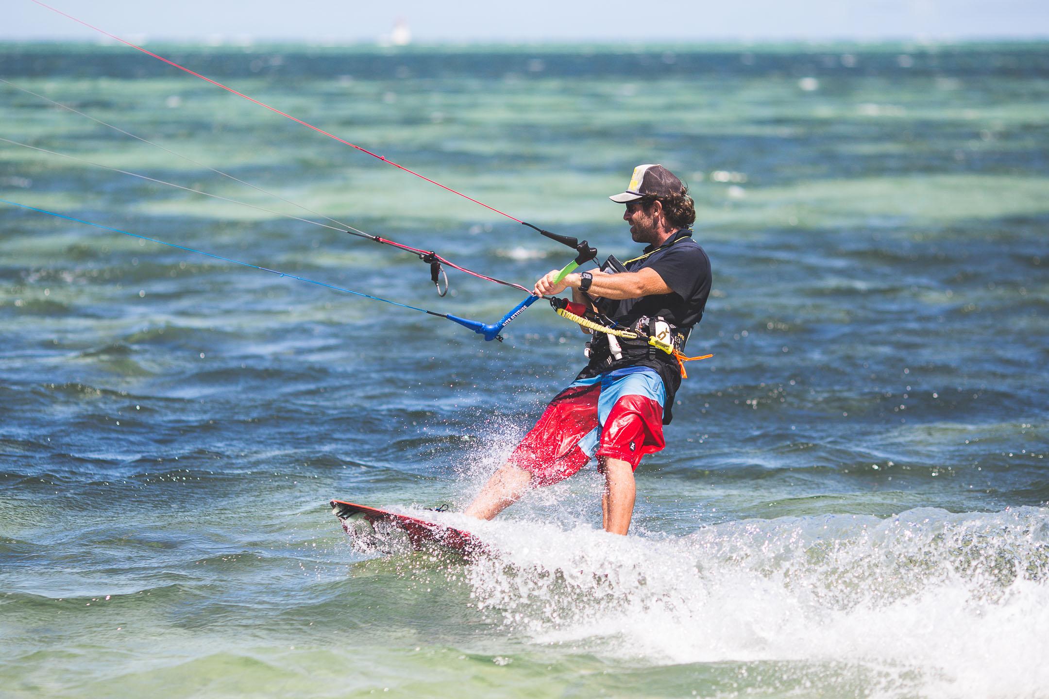 Cours de kitesurf à Nouméa