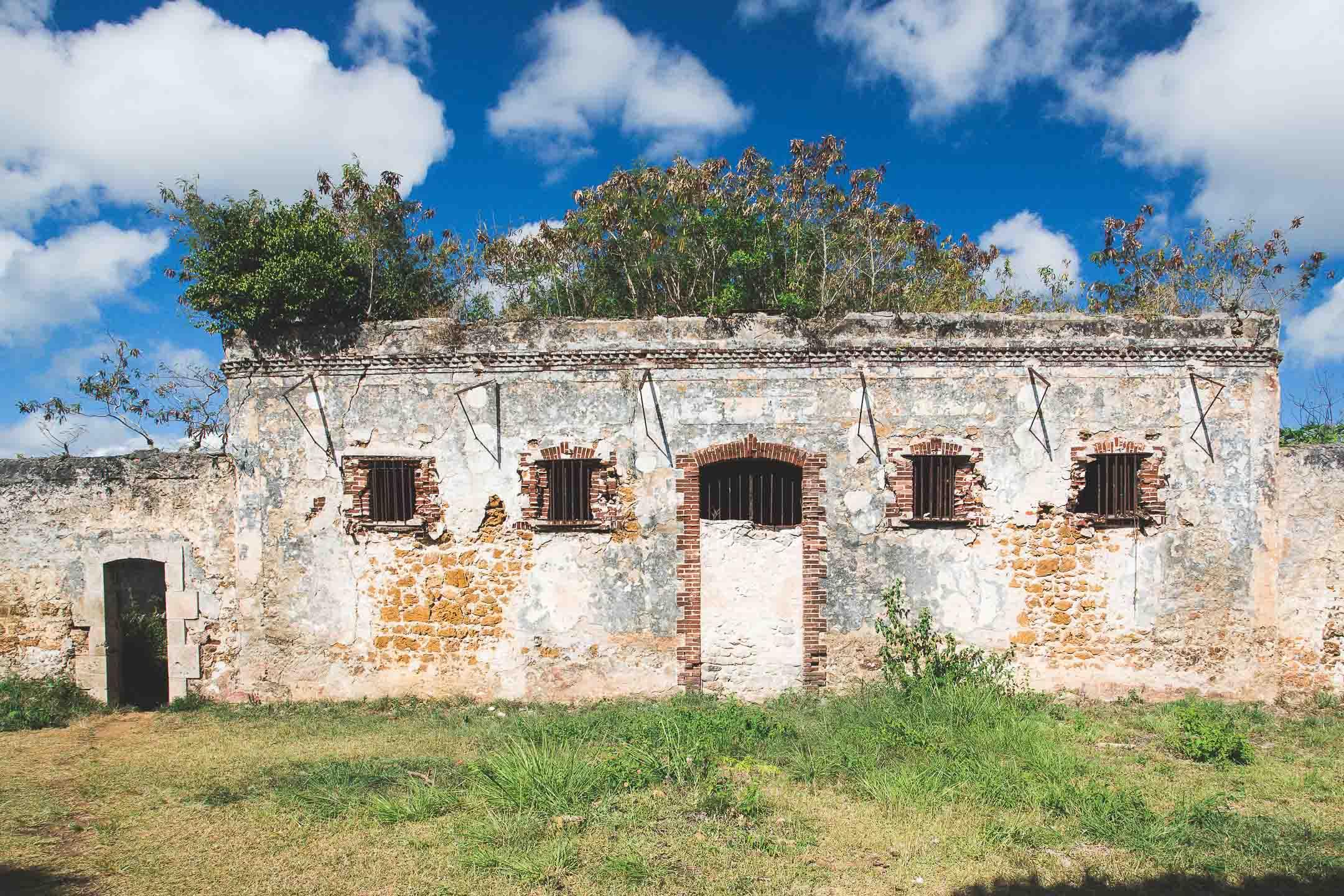 Les vestiges du bagne de l'île des Pins