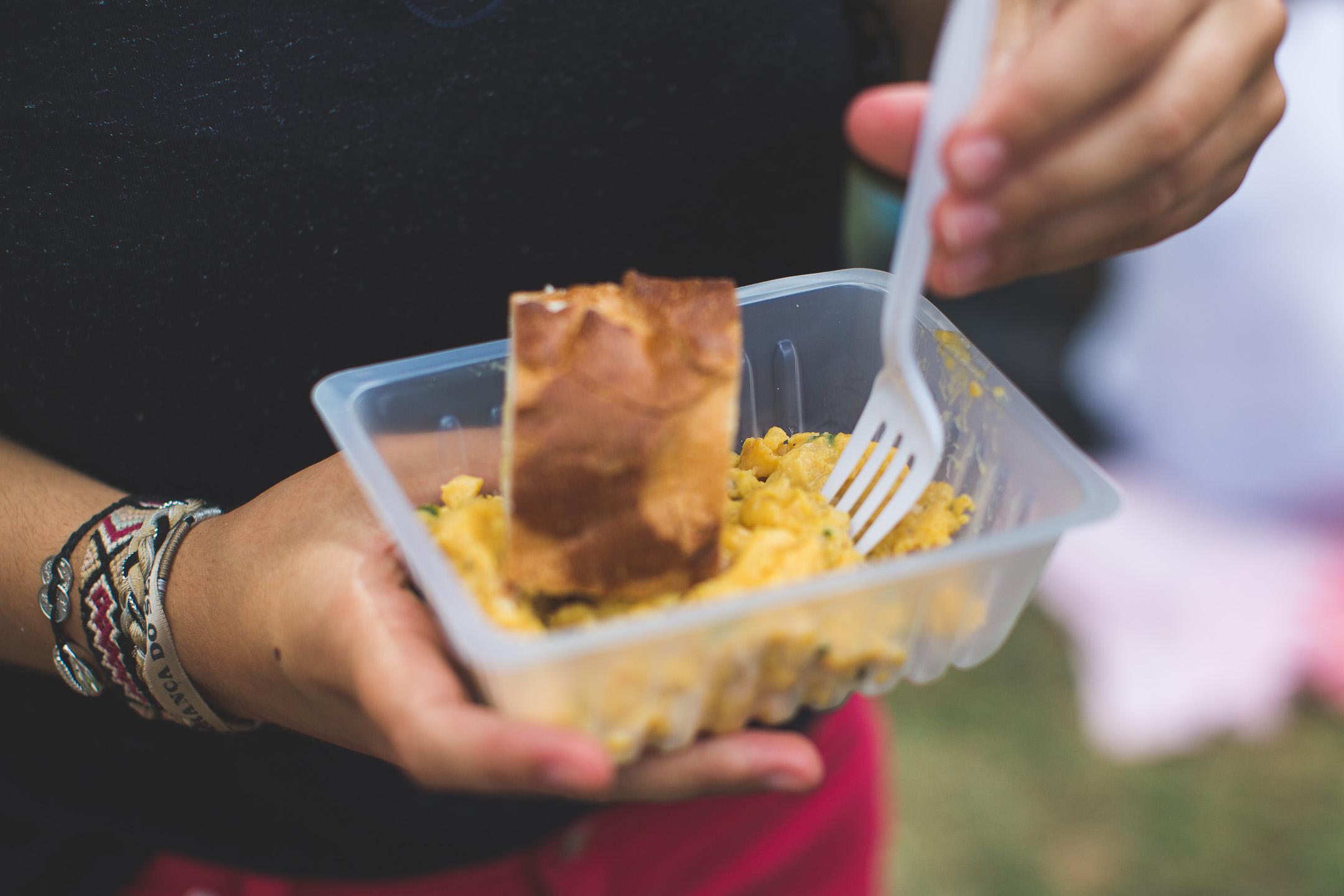 fête de la ville de dumbéa omelette géante