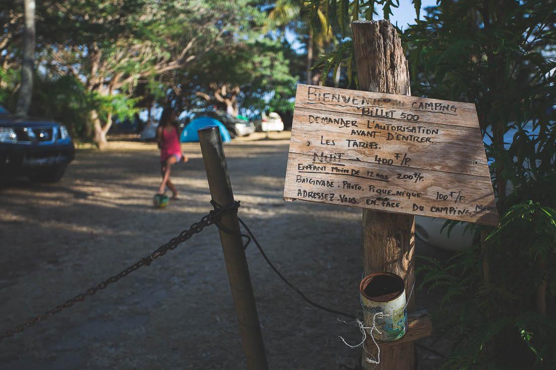 camping du billet de 500 hienghène