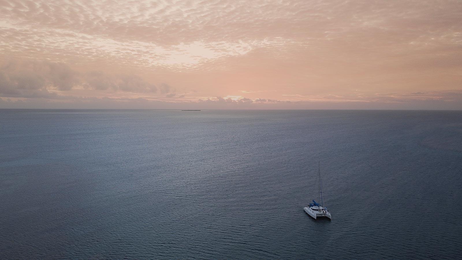 Croisière en catamaran dans les îlots du Sud