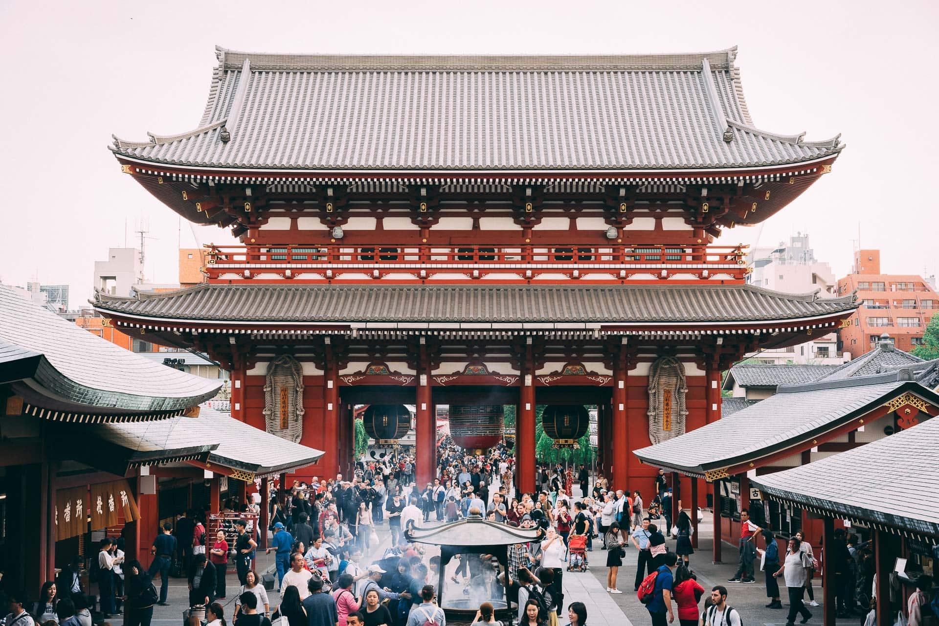 Visite du temple Senso-Ji à Tokyo