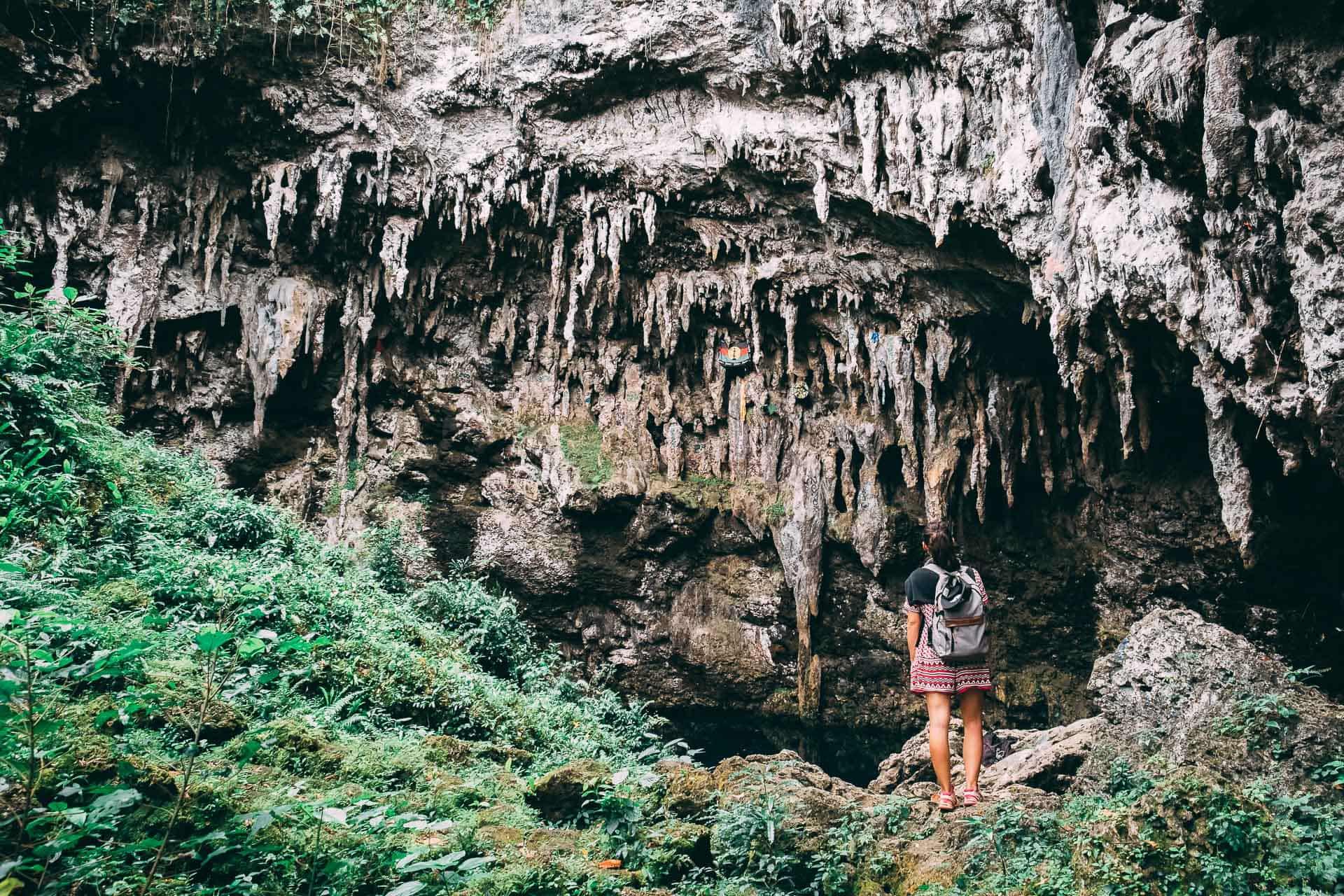 maré nouvelle calédonie caverne de pethoen