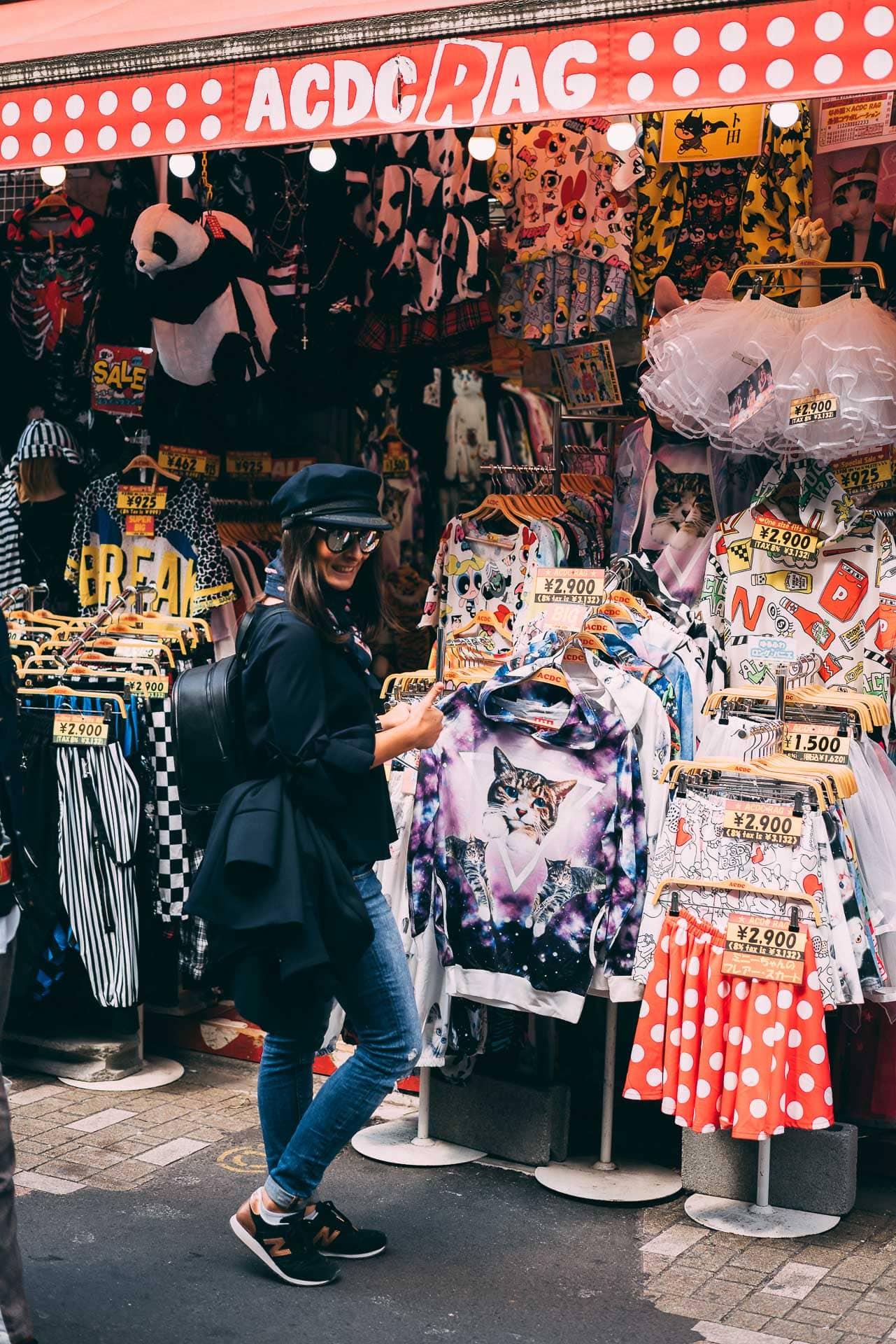 harajuku takeshita street tokyo