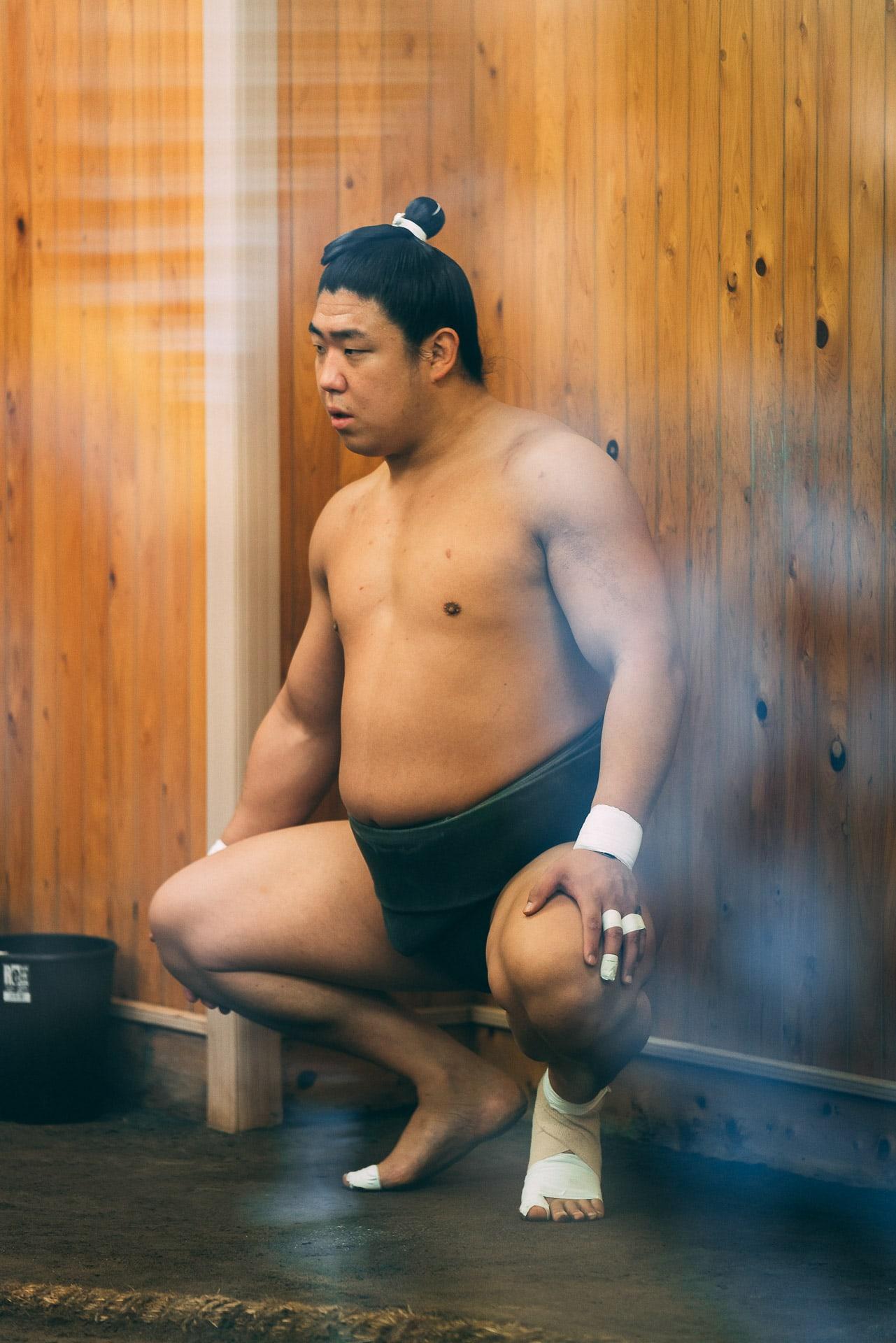 entrainement sumo tokyo