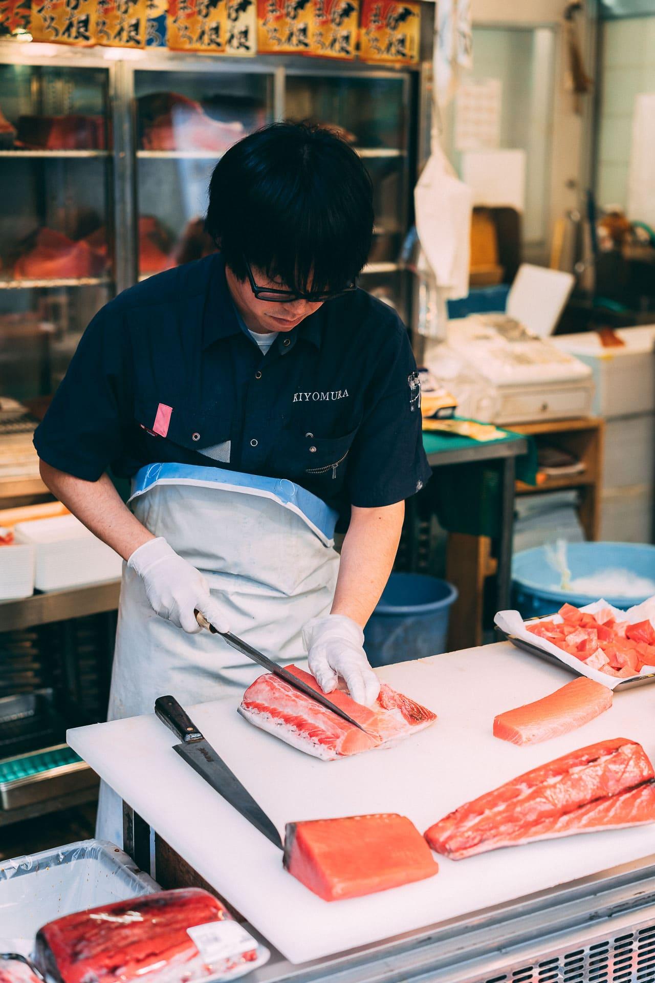 marché au poisson tsukiji tokyo