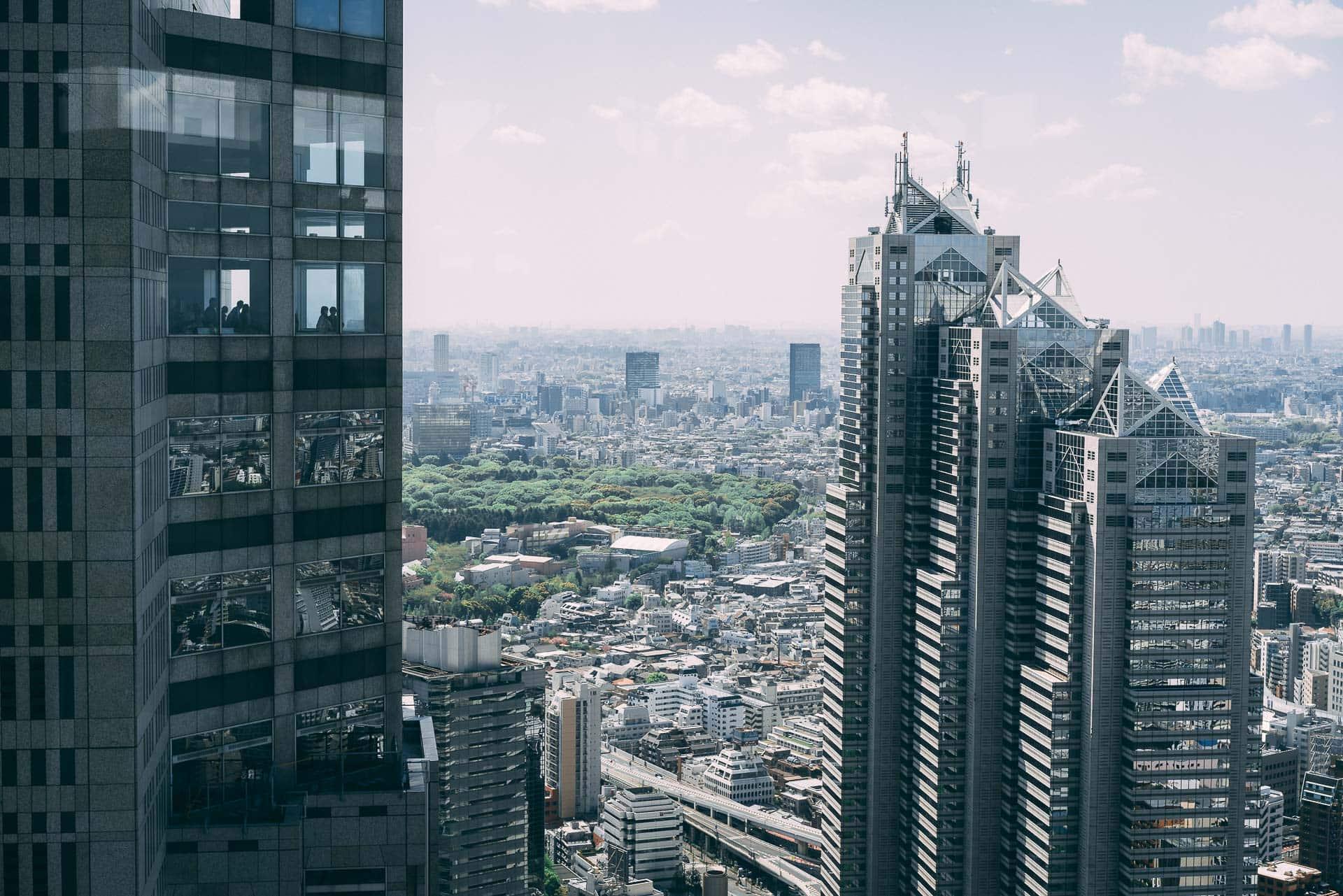 L'observatoire de la mairie de Tokyo