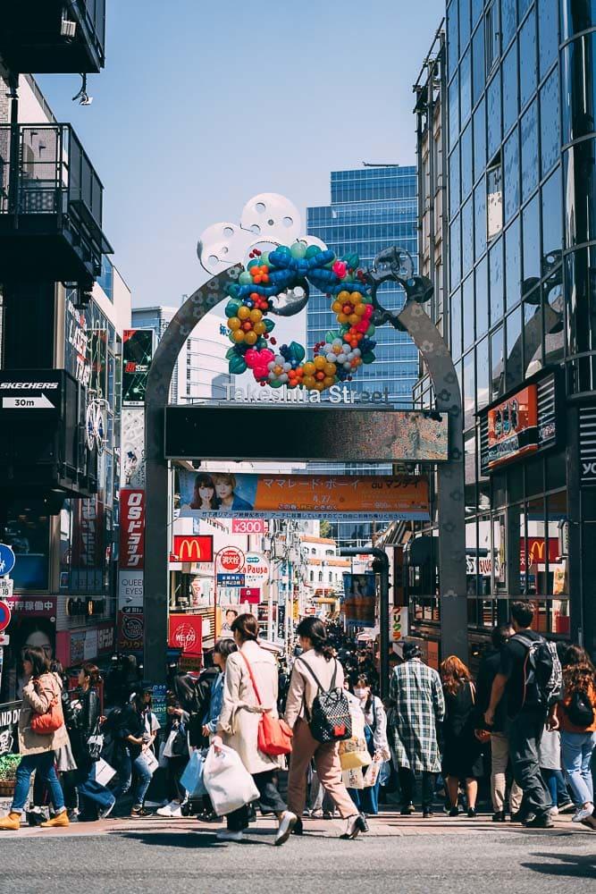 takeshita street harajuku tokyo