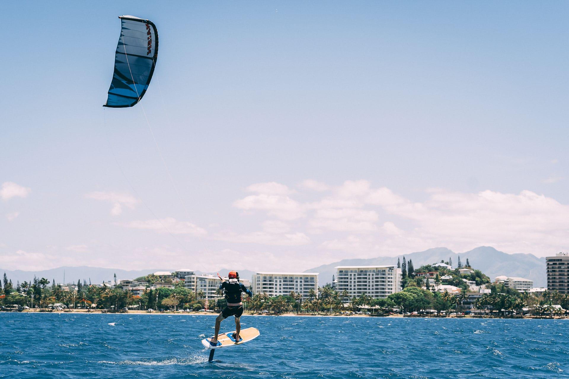 cours kitesurf foil nouméa