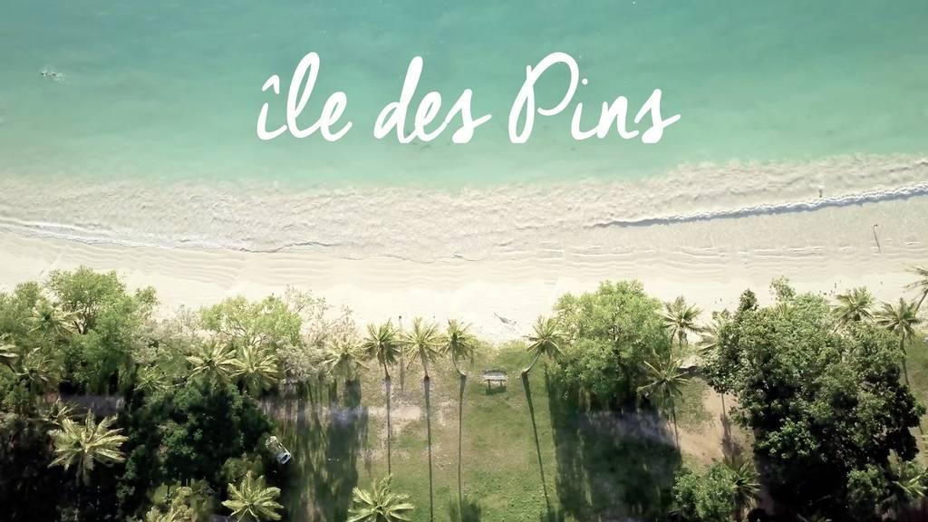 île des pins vidéo drone